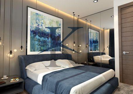 واحد یک خواب پروژه هتل مسکونی