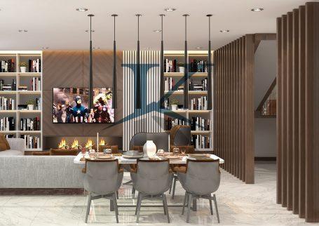 واحد دوبلکس سه خواب پروژه هتل مسکونی