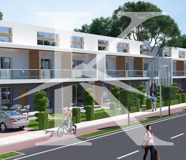 واحدهای آپارتمان یک خواب ۶۰ متری در پروژه چهار فصل