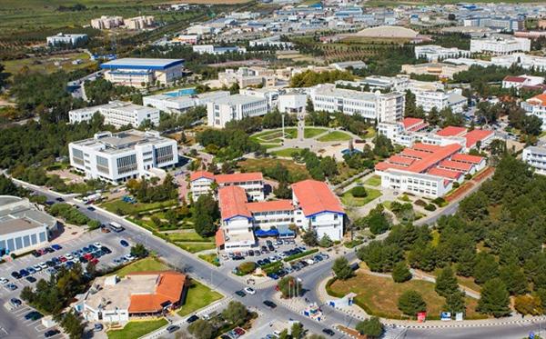 نقشه دانشگاه مدیترانه شرقی